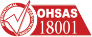 Falcon is a BS OHSAS 18001 certified company.